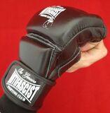 GUANTES PIEL - GRAPPLING MMA - ANTIFA FC - foto