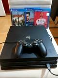 PS4 Pro Mando y juegos - foto