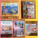 Lote de 5 puzzles educativos - foto
