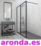 Venta e instalacion de mamparas de baño - foto