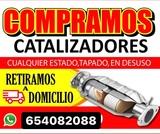 Compro catalizadores usados - foto