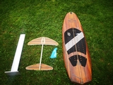 TABLA SURF KITE WAKE + FOIL - foto
