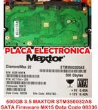 500GB 3.5 MAXTOR STM350032AS SATA FIRMWA