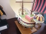 One piece Barco pirata Luffy - foto
