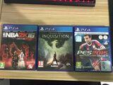 Pack juegos ps4 Dragon Age+pes2015+NBA16 - foto