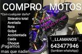 COMPRO EN NAVARRA MOTOS AVERIADAS, ROTAS - foto