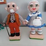 muñecas echas a ganchillo - foto