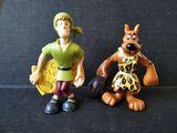 Lote figuras Scooby Doo y Shaggy pvc - foto