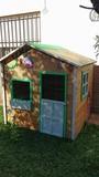 casa de madera infantil - foto