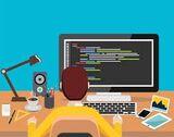 Programación informática. Digitalización - foto