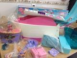 barco crucero muñeca barbie - foto