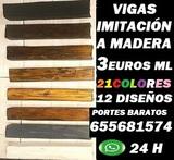 VIGAS IMITACIÓN MADERA BURGOS 655681574 - foto