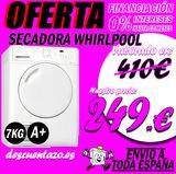 Secadora whirlpool 7kg a+ - foto
