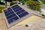 Placas solares - foto