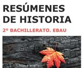 RESÚMENES DE HISTORIA.  2º BACHILLERATO - foto