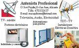 Parabólicas, Dish  installer in Alicante - foto