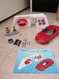 Porsche rojo de Playmobil - foto