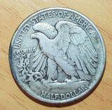 Monedas antiguas: USA & Mexico - foto