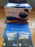 PlayStation VR + cámara + 2 juegos - foto