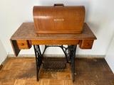 Maquina de coser singer nº15 (Año 1924) - foto