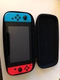 nintendo switch+4 juegos - foto
