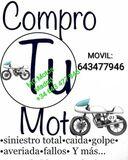 COMPRO EN BARCELONA MOTOS CON AVERIAS - foto