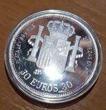 Serie monedas plata 30 euros autonomias - foto