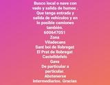BUSCO LOCAL O NAVE CON ENTRADA DE COCHES - foto