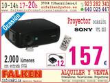 PROYECTOR SONY VPL ES3 2000 LúMENES DE O
