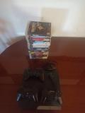 PS3 + 3 mandos + juegos+ micro - foto