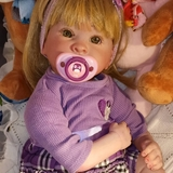 Bebé reborn Oliva. Preciosa... - foto