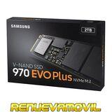 SSD SAMSUNG 970 EVO PLUS 2TB 2000GB NVME
