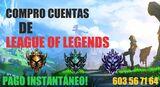 Compro cuentas! league of legends - foto