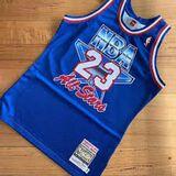 CAMISETA NBA BULLS 23 AZUL ALL STARS 93 - foto