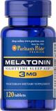 Melatonina Americana de 3 y 5 mg - foto