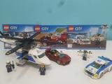 Lego City Persecución en helicóptero - foto