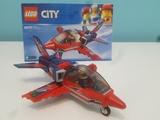Lego pilotando Jet - foto