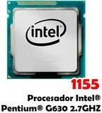 1155 PROCESADOR INTEL® PENTIUM® G630 2.7