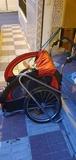 remolque para bicicleta - foto