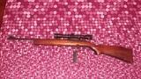 cambio rifle semiautomático calibre 22 - foto