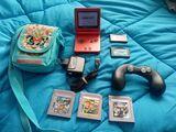 Game boy Advance SP+Mando+Juesos+mochila - foto
