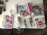 Wii 2Guitarras y 4 Juegos - foto