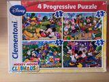 Pack 4 cajas puzzles y una de motricidad - foto