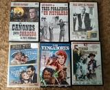 Lote 7 peliculas oeste. 6 dvds - foto