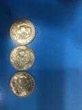 Monedas oro - foto
