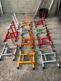 Rodillos de entrenamiento de bicicleta - foto