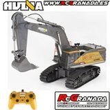 Excavadora rc huina 1/14th rc 2.4g 22ch - foto