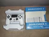 mando PS4 a nuevo con caja color blanco - foto