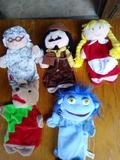 Lote marionetas de mano - foto