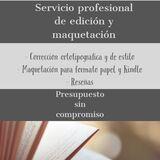 Edición y maquetación profesional - foto